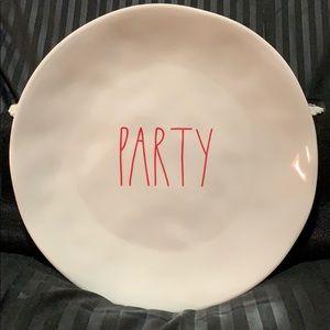 Rae Dunn 100% Melamine Plates Set of 4